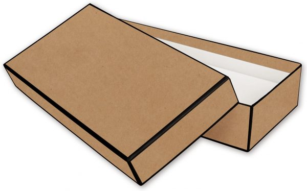 "Kraft Jewelry Boxes, 9 x 4 1/2 x 2"" (50 Boxes) - BOWS-52-090402-KFT"