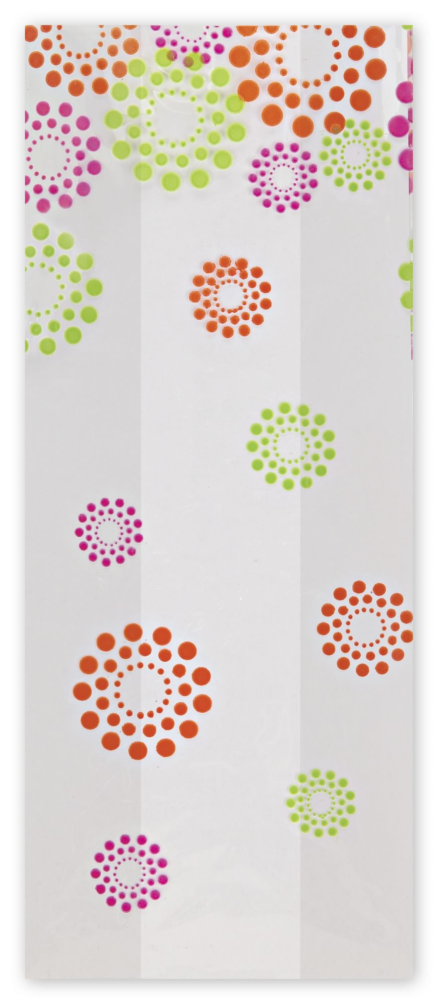 """Blooming Dots Cello Bags, 5 x 3 x 11 1/2"""" (100 Bags) - BOWS-237-050311-BD"""