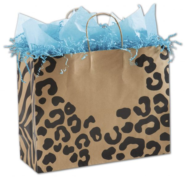 """The Wild Side Shoppers, 16 x 6 x 12 1/2"""" (100 Bags) - BOWS-15-160612-WLDS"""