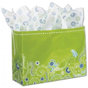 """Grand Gusto Shoppers, 16 x 6 x 12"""" (100 Bags) - BOWS-268-160612-GG"""