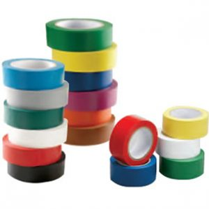 """3"""" x 108' Red Aisle Marking Conformable Tape SAFETY-ID-PST312"""