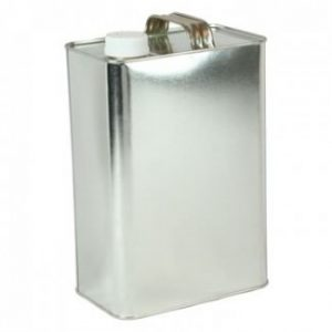 F-Style 1 Gallon Metal Can w/ Cap (2 Cans/Pack) - COM-PK-FGAL