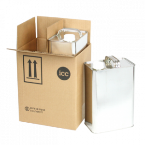 1 Gallon F-Style 2 Can Shipper Kit (Box Only) - COM-PK-MT122NC