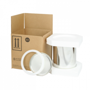 1 Gallon Can Foam Shipper Kit w/ Ringlok and Foam Insert (No Can) - COM-PK-NGALF