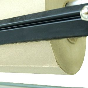 "Kraft Paper Dispenser - Horizontal - with Serrated Blade - Fits 48"" Roll (1 Dispenser) - EP-5940-48"