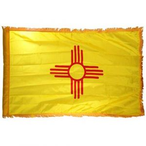 3ft x 5ft New Mexico Flag Nylon Indoor - FG-SNM35N-INDOOR
