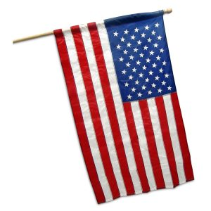 3ft x 5ft Nylon US Banner Flag by Valley Forge - FG-USA35B