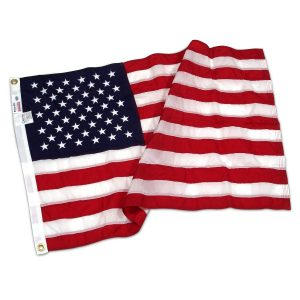American Flag 6ft x 10ft Nylon by Valley Forge - FG-USA610N