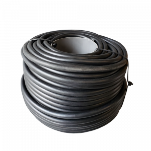 """Solid Core Rubber Rope - Black - 3/8"""" x 150' (1 Spool)"""