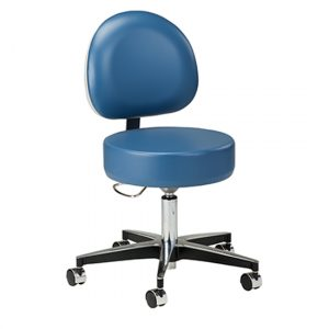 Wedgewood 5-Leg Pneumatic Stool with D-shaped Backrest - CL-2156-31
