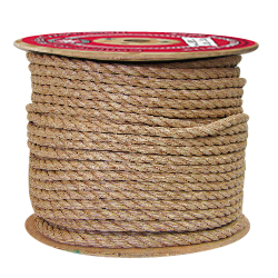 """Manila Rope-Coils - Natural - 3 Strand - 5/8"""" x 600', 3960 lbs Tensile (1 Coil)"""