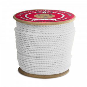 """PolyPRO White Rope - 3 Strand - 3/4"""" x 600', 7650 lbs Tensile (1 Spool)"""
