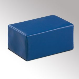 "6"" Royal Blue Cube Pillow, used for Physical Therapy - CL-54"