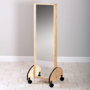 """17.5"""" x 21"""" x 57"""" Mobile Youth Mirror - CL-6222"""