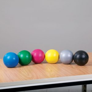 1 LB. Yellow Soft Grip Weight Ball - CL-8101