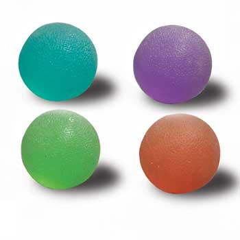 Purple Squeeze Balls (Extra Firm), used for Hand Exercise - CL-8304