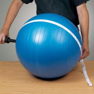 Exercise Ball Inflation Tape - CL-8406