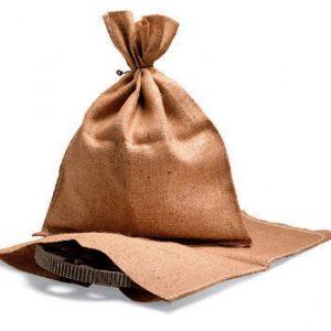 "8"" x 12"" Burlap Shipping Bag (10 oz.) (100 per bundle)"