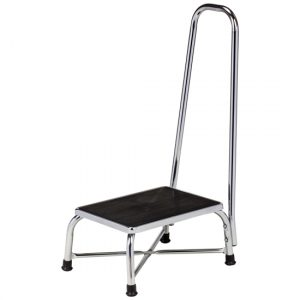 Large Top Bariatric Step Stool with Handrail - CL-T-6250