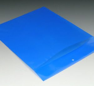 """9-1/4"""" x 15"""" Polyethylene Routing Envelope with Slit Opening and Hang Hole - Blue (6 mil) (250 per carton)"""