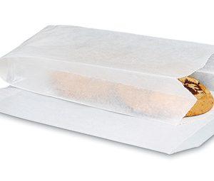 "4"" x 2-3/4"" x 9"" Glassine Bags with Gusset (25 lb.) (1000 per carton)"