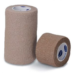 "3"" x 15' Hartmann USA Co-Lastic® LF Elastic Bandage - Tan (24 per carton)"