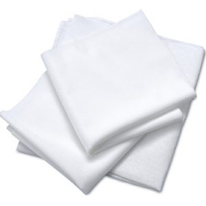 """12"""" x 12"""" Class 1000 Clean Room Wipers - Non-woven Cellulose and Polyester (150 per bag)"""