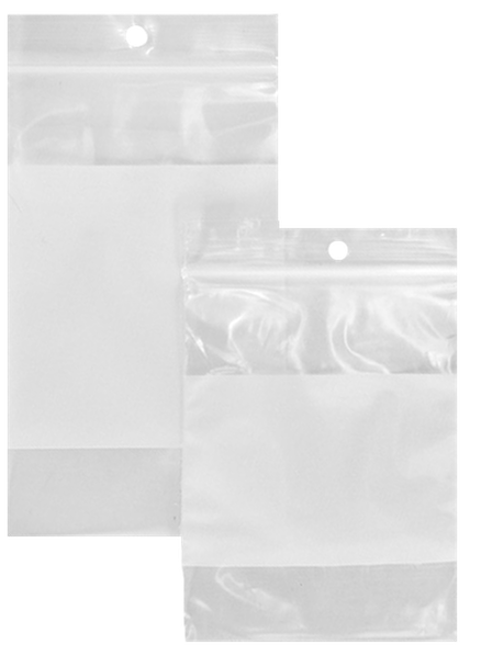 4x6 Inch H//D FLAT POLY PLASTIC PACKAGING BAGS .004 Mil Thick 100 Count Bulk Pkgs