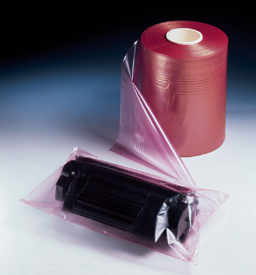 "20"" x 660' Anti-Static Poly Tubing - Pink Tinted (4 mil)"