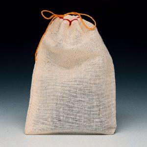 "6"" x 8"" Cloth Parts Bag with Single Drawstring (500 per carton)"