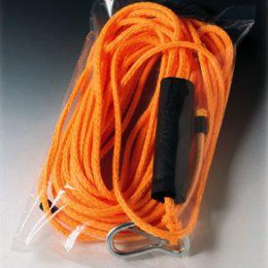 "10"" x 24"" Low Density Flat Poly Bag (2 mil) (1000 per carton)"