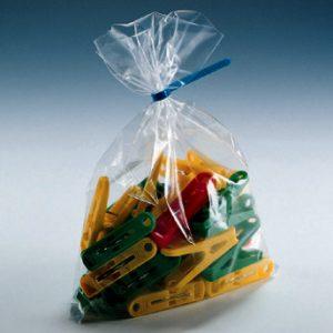 "30"" x 60"" Low Density Flat Poly Bag (1.5 mil) (200 per carton)"