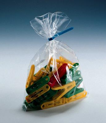 "6"" x 30"" Low Density Flat Poly Bag (2 mil) (1000 per carton)"