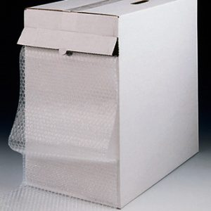 "12"" x 100' Sealed Air® Bubble Wrap® Brand Strong Grade Cushioning in a Ready-to-Roll® Dispenser Carton (5/16"")"