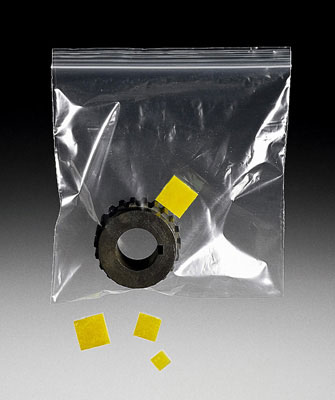 "1"" x 3"" Zerust® Anti-Corrosion Plastabs® (150 cu. in. Protection) (1000 per bag)"
