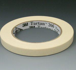 """2"""" x 180' 3M™ General Use Masking Tape - Tan"""