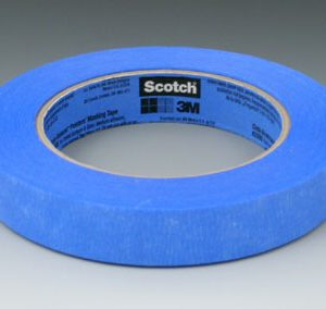 "1"" x 180' 3M™ Scotch-Blue™ Painter's Masking Tape - Blue - 36 Rolls per Carton"