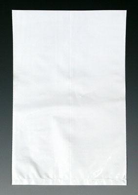 "15"" x 18"" Colored Low Density Flat Poly Bag - White (2 mil) (1000 per carton)"