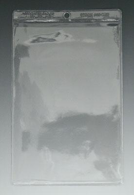 """11-1/2"""" x 16-7/8"""" Short-Side Opening Vinyl Envelopes with Hang Hole (7.5 Gauge) (100 per bag)"""