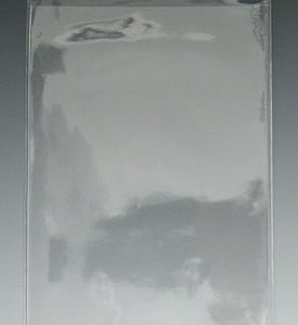 """4-5/8"""" x 7"""" Short-Side Opening Vinyl Envelopes with Hang Hole (7.5 Gauge) (100 per bag)"""