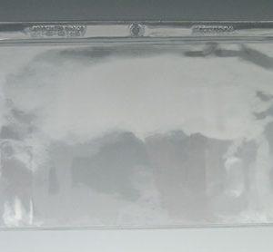 "5-1/8"" x 2-5/8"" Long-Side Opening Vinyl Envelopes with Hang Hole (7.5 Gauge) (100 per bag)"