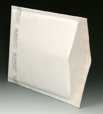 """10-1/2"""" x 16"""" (No. 5) Jiffylite White Bubble-Lined Self-Sealing Mailer (80 Mailers)"""