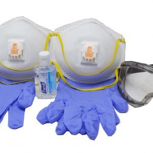 coronavirus pandemic travel mask kit