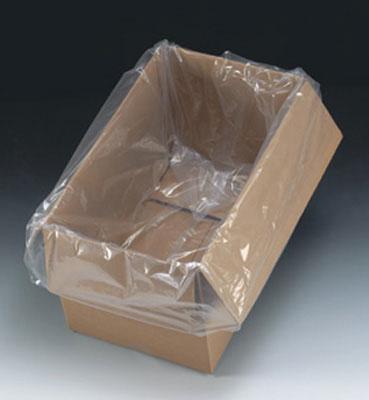 "20"" x 13"" x 48"" Low Density Gusseted Poly Bag (6 mil) (75 per carton)"