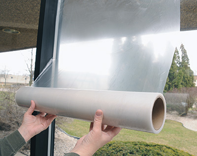 """48"""" x 200' Window Protection Film - Clear (1.5 mil)"""