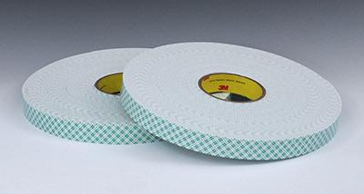 """1"""" x 108' 3M™ Heavy-Duty Double Sided Foam Tape 4008 (1/8"""" Thickness)"""