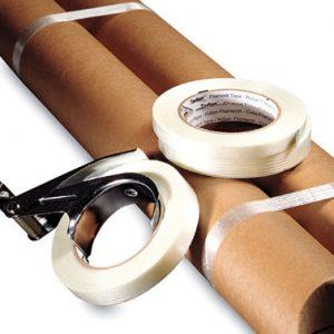 "1"" x 180' 3M™ Scotch® Standard Filament Tape 897 (170 lb.) (9 per sleeve)"