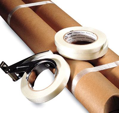 "1/2"" x 180' 3M™ Scotch® Standard Filament Tape 897 (170 lb.) (18 per sleeve)"