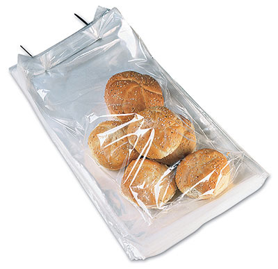 "11"" x 17"" Wicketed Poly Bag + 4"" Bottom Gusset (1 mil) (250 Bags per Wicket; 4 Wickets per Carton) (1000 per carton)"