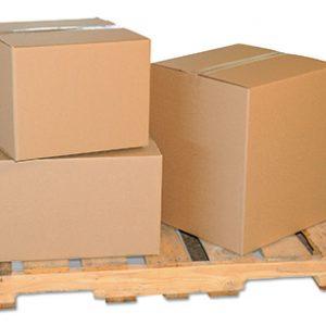 "30"" x 5"" x 24"" Single Wall Corrugated Box - Kraft  (10 per bundle)"